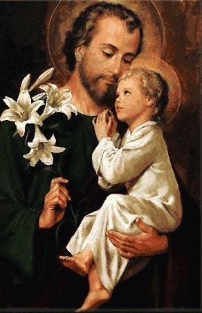 19 mars: St Joseph dans Prières St-Joseph